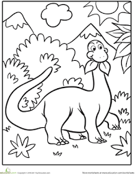 dinosaur colouring pages. Contemporary Dinosaur Cute Dinosaur Coloring Page  Google Search Throughout Dinosaur Colouring Pages I