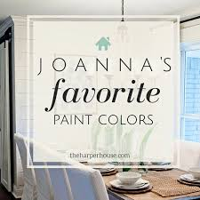 House Interior Colors fixer upper paint colors joannas 5 favorites the harper house 4893 by uwakikaiketsu.us