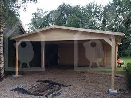 double carport shed 6m x 8m 1