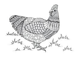 Chicken Coloring Pages Twin Drumstick Fried Chicken Coloring Pages
