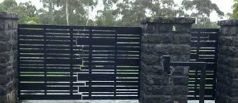 modern metal fence design. Modern Metal Fence Automatic Gates Residential Steel Contemporary Designs Design