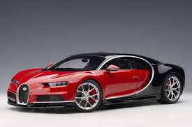 If there's any doubt about the bugatti chiron's raison d'être, it's. Bugatti Chiron 2017 Color Italian Red Nocturne Black Autoart 12113 Scale 1 12 Eztoys Diecast Models And Collectibles
