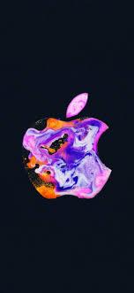 Apple logo 4K Wallpaper, iPhone 12 ...