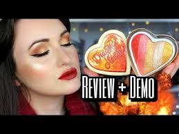 dragon s heart highlighter review face eye demo i heart revolution