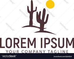 Free Cactus Logo Design Cactus Logo Design Concept Template