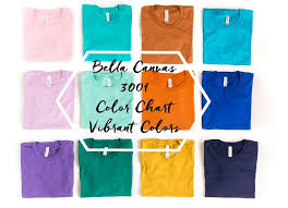 Bella T Shirts Color Chart Bella Canvas Vibrant Colors Color Chart Display 3001 Folded T Shirts Mockup Product Promotion Mockup Product Photography Download
