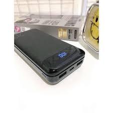 Sạc dự phòng Samsung 20000mAh CHÍNH HÃNG Cục pin dự phòng WK WP-168  20000Mah, có đèn led báo % pin bảo hành 6 tháng chính hãng 289,000đ