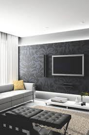 Wallpaper In Living Room Design 17 Best Ideas About Living Room Wallpaper On Pinterest Wallpaper