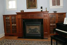 fireplace mantel with storage craftsman fireplace mantel with large storage systems for wood burned fireplace building