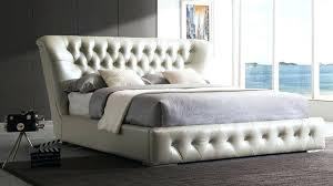 platform bed leather king platform bed with leather headboard white leather platform bed king