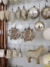 White Silver Glass Weihnachtsdeko Weihnachten