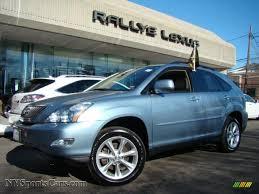 lexus rx 350 blue. breakwater blue metallic / parchment lexus rx 350 awd rx e