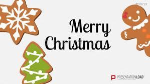 Presentationload Christmas Templates Christmas Cookies