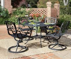 wrought iron patio table and 4 chairs. Full Size Of Patio \u0026 Garden:wrought Iron Furniture Seats 8 Wrought Table And 4 Chairs A