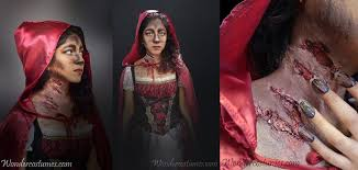 little red riding hood makeup tutorial results