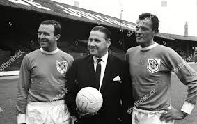 Jimmy Armfield left Stan Mortensen Manager Ray Editorial Stock Photo -  Stock Image   Shutterstock