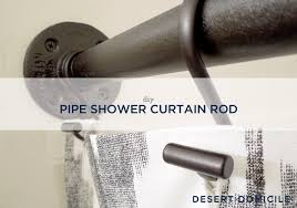 shower curtain rod ideas. Hang Your Shower Curtain On Newly DIY\u0027d Pipe Rod And Smile At The Fact That It\u0027s Never Falling Down Again :) Ideas R