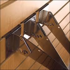 slatwall shelf bracket slat wall support bracket slatboard shelf support bracket