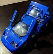 Eb stands for ettore bugatti, and 110 for his 110th birthday. Bugatti Eb 110 Rot 1991 Anson 1 18 For Sale Online Ebay