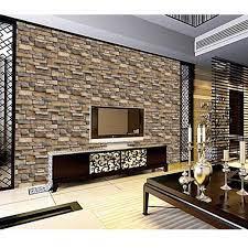 Brick wallpaper roll, Wall decor stickers