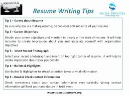 Resume Writing Tips Extraordinary Top 28 Resume Writing Tips To Get You The Interview Unique Top 28