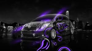 toyota vitz jdm effects crystal city car