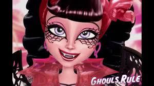 monster high draculaura ghouls rule makeup tutorial you
