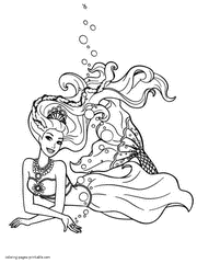 Barbie Coloring Pages 300 Free Sheets For Girls