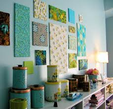 fabric wall art on cheap wall art ideas diy with cheap and easy diy wall decorating the budget decorator