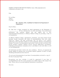Fresh Academic Letter Of Recommendation Examples Mailing Format