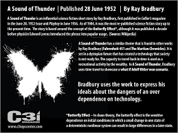 a sound of thunder essay writing a sound of thunder the butterfly effect by ray bradbury