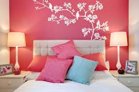 simple wall painting designs trends also outstanding for bedroom pictures