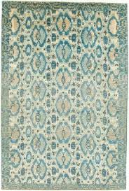 lovely blue ikat rug and 6 x blue and tan rug 31 blue ikat rug uk