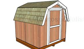 shed plans 8x12 gambrel roof