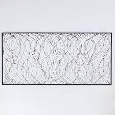 luxenhome metal infinity rectangular