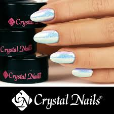 Crystal Nails Glitrový Pudr Efekt 2