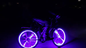Bike Neon Lights Coolest Thing Ever Crazy Glowing Bikes Glow Candy Bicycle Led Lights