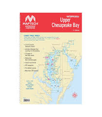 Upper Chesapeake Bay Chart Upper Chesapeake Bay 1st Edition 2017