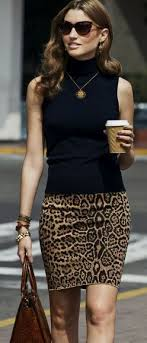 office leopard print. rita and phill specializes in custom skirts follow for more tips office leopard print n