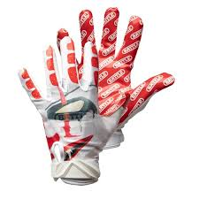 Ua Football Glove Size Chart Football Gloves Youth Kids Adult Battle Sports