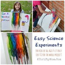 easy science projects for kids melting