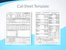 Template: Call Sheet Template Excel Professional Film Football. Call ...
