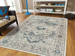 distressed area rugs 8x10 cream blue rug 5x7 living room rugs runner 2x8