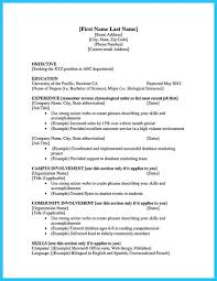 How To Make A Resume College Student Musiccityspiritsandcocktail Com