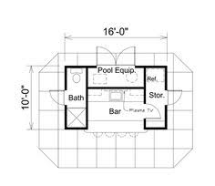 The 25 Best Pool House Plans Ideas On Pinterest  Guest House Pool House Floor Plans