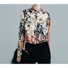 <b>Блуза</b> AliExpress <b>fashion</b> vintage flower print shirt elegant blouse ...