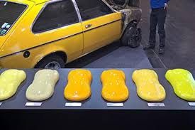 Yellow Car Paint Chart 24 Disclosed Automotive Yellow Paint Colors