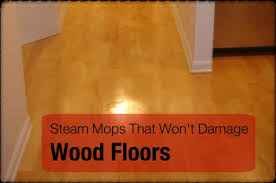 you can clean many types of wood floors with a steam mop