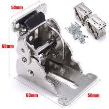 4pcs folding table leg brackets fittings self lock