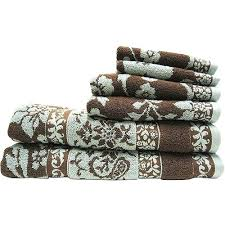better homes and garden towels blue and brown bathroom towels better homes  gardens kitchen towels
